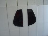 カーフィルム施工-リアドア小窓(セダン)02」 型取り終了